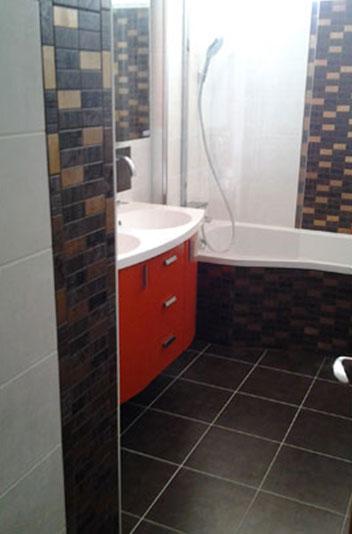 Carrelage cr ation de salle de bain et d coration for Creation salle de bain 3d